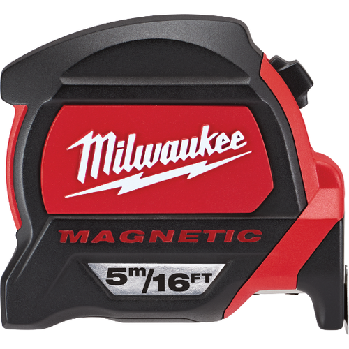 Milwaukee I 5m/16ft Premium Magnetic Tape Measure