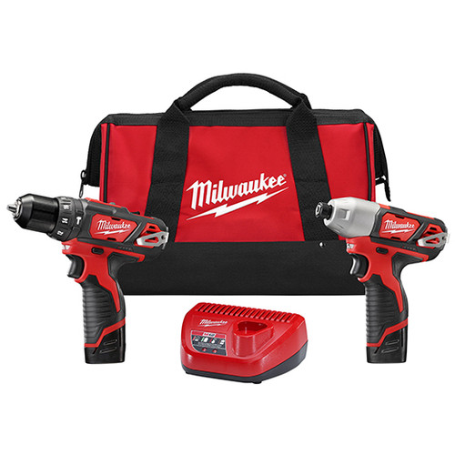 Milwaukee I M12™ COMBO 3/8 HMR DRL/IMPACT W/CMPT BAT