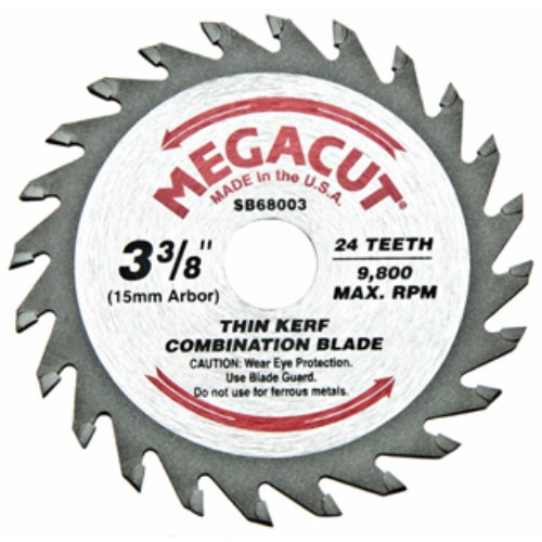 """Alfa Tools I 3-3/8""""X24T COMBINED CARBIDE TIPPED SAW BLADE"""