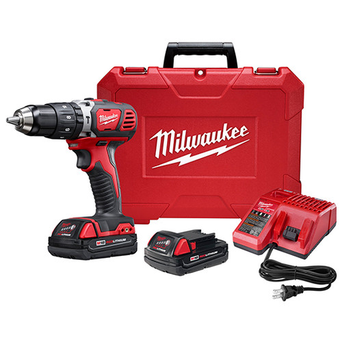 "Milwaukee I M18™ 1/2"" HAMMER DRILL CP KIT"