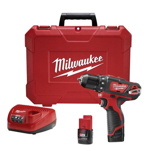 """Milwaukee I M12â""""¢ 3/8 DRILL DRIVER KIT"""