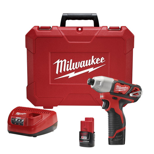 Milwaukee I M12™ 1/4 HEX IMPACT DRIVER - KIT