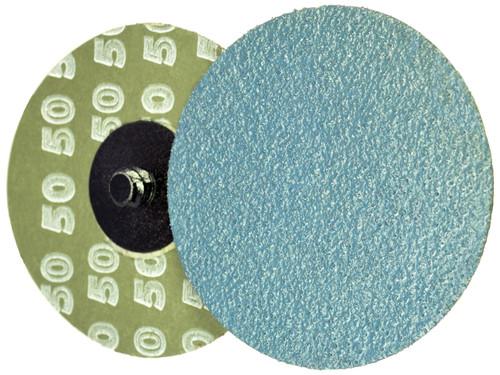 "Alfa Tools I 2"" X 50 GRIT ZIRCONIA QUICK CHANGE RESIN FIBRE DISC TYPE 'R'"