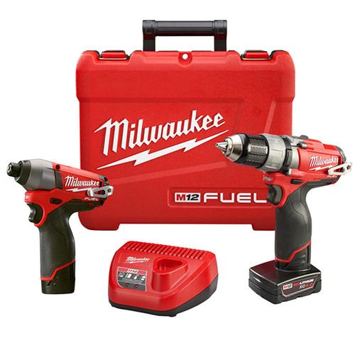 Milwaukee I M12™ FUEL™ COMBO 1/2 DRILL/IMPACT W/2 BAT
