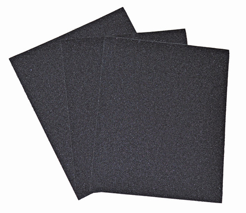 "Alfa Tools I 9"" X 11"" 500 GRIT SILICON CARBIDE WATERPROOF PAPER SHEETS 50/PACK"