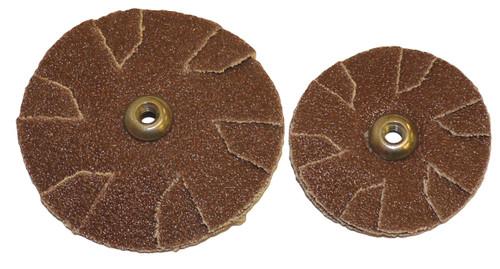 "Alfa Tools I 1-1/4"" X 60 GRIT ALUMINUM OXIDE OVERLAP SLOTTED DISC"