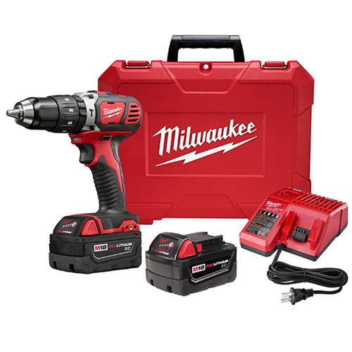 "Milwaukee I M18™ 1/2"" HAMMER DRILL XC KIT"