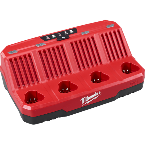 Milwaukee I M12™  FOUR BAY SEQUENTIAL CHARGER