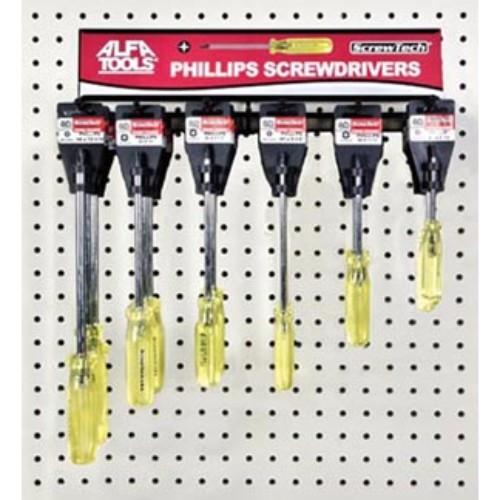 Alfa Tools I #2X 3-1/4 STUB PHILLIPS SCREWDRIVER HANGER