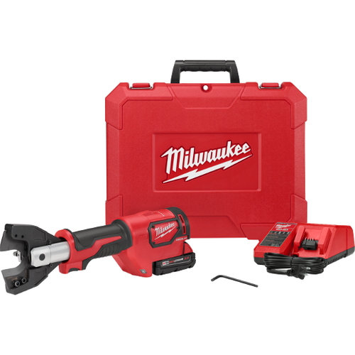 Milwaukee I M18™ FORCE LOGIC™ CABLE CUTTER KIT with 477 ACSR Jaws