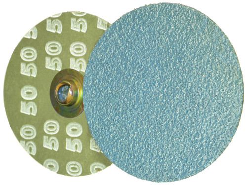 "Alfa Tools I 2"" X 80 GRIT ZIRCONIA QUICK CHANGE RESIN FIBRE DISC TYPE 'S'"