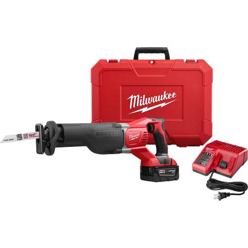 Milwaukee I M18™ SAWZALL® RECIPROCATING SAW W/1 BAT