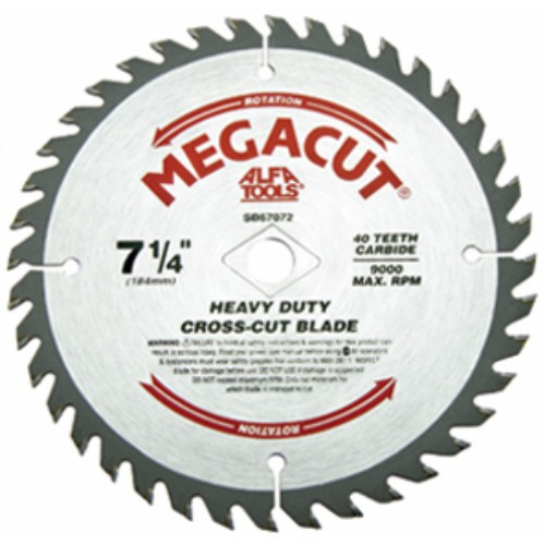 Alfa Tools I 7-1/4X24T HEAVY DUTY COMBINED CARBIDE TIPPED SAW BLADE