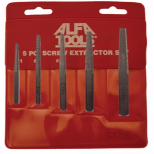 Alfa Tools CDH50452 ASA# 2 High-Speed Steel Combined Drill and Countersink 12 Pack