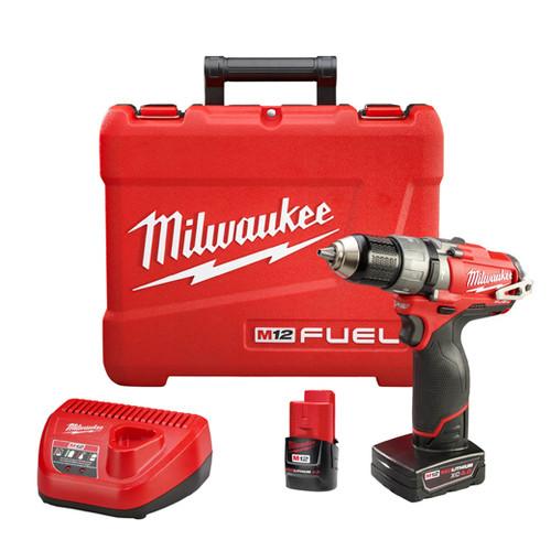 Milwaukee I M12™ FUEL™  1/2 HAMMER DRILL KIT W/2 BAT