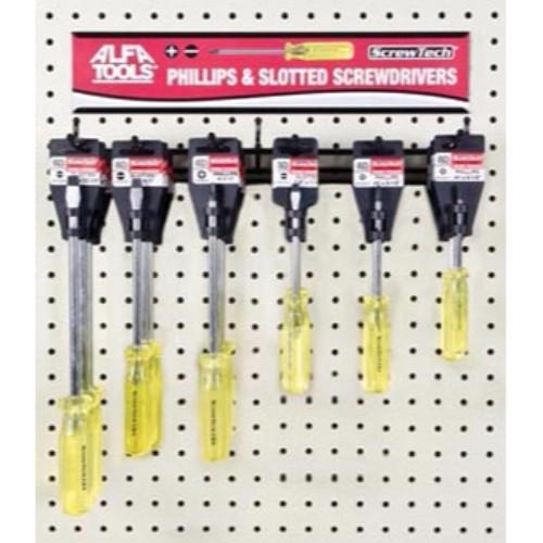 Alfa Tools I #12 X 8 SPANNER SCREWDRIVER HANGER