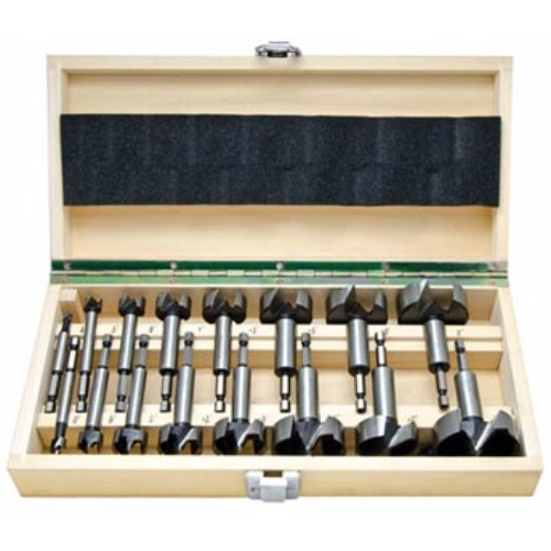 Alfa Tools I 16PC 1/4 HEX SHANK FORSTNER BIT SET