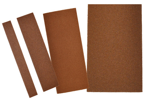 "Alfa Tools I 2"" X 9"" 50 GRIT PSA ALUMINUM OXIDE RESIN CLOTH SHEET 50/PACK"