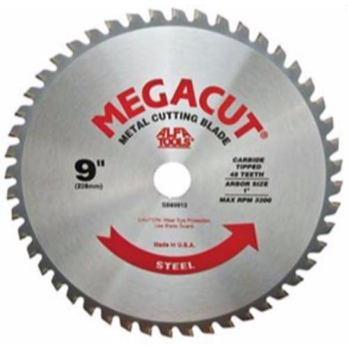 "Alfa Tools I 9""X48T x 1"" CARBIDE CIRCULAR SAW FOR STEEL"