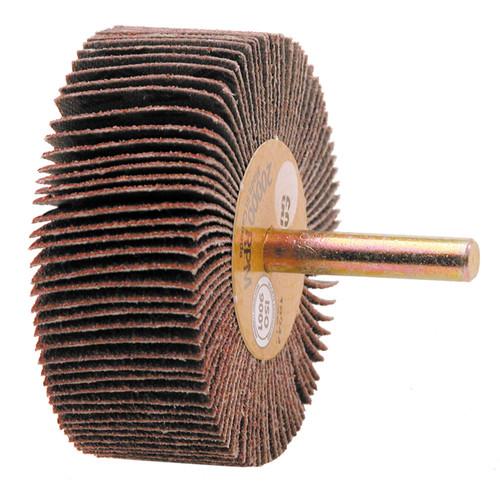 "Alfa Tools I 1 1/2"" X 1/2"" X 60 GRIT FLAP WHEEL"