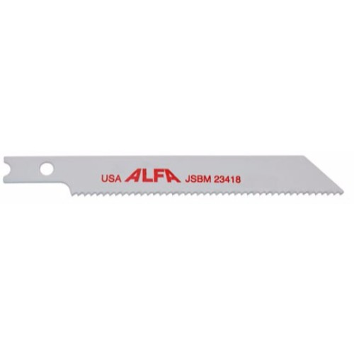 "Alfa Tools I BI-METAL 4"" 10 T-SHANK JIG SAW BLADE 5 PER TUBE"