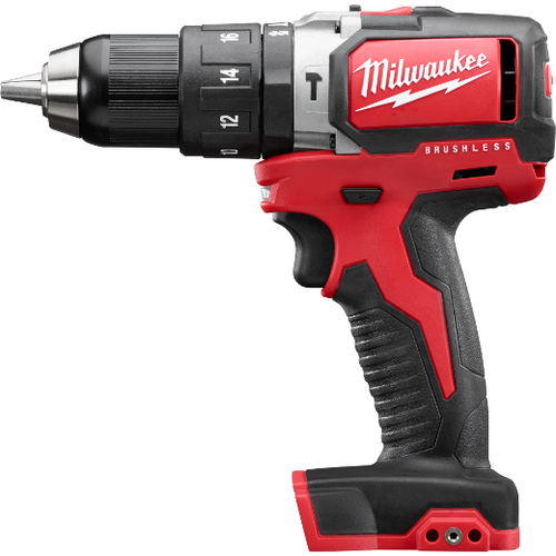 """Milwaukee I M18™ ½"""" COMPACT BRUSHLESS HAMMER DRILL/DRIVER BARE"""