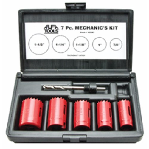 Alfa Tools I 7PC HOLE SAW KIT