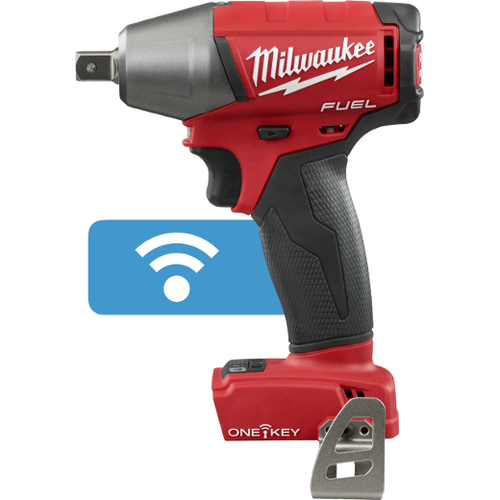 """Milwaukee I M18 FUEL™  1/2"""" COMPACT IMPACT WRENCH W/ PIN DETENT WITH ONE-KEY™ BARE"""