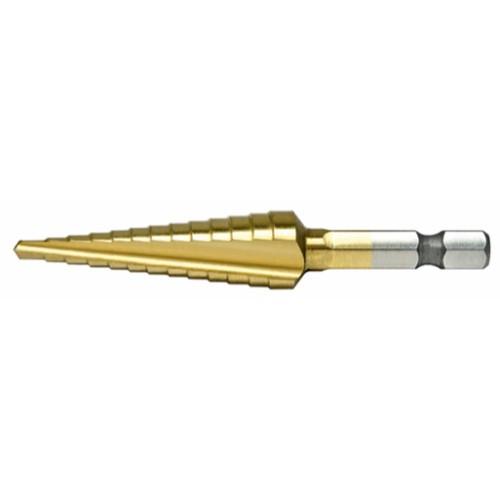 """Alfa Tools I """"A"""" 1/4 HEX SHANK COBALT PROBIT CN DRILL CARDED"""