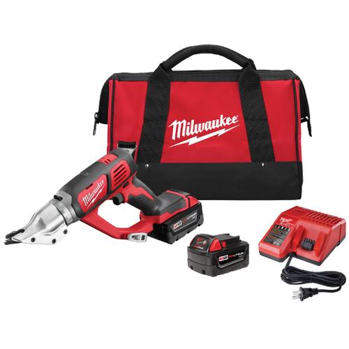 Milwaukee I M18™ CORDLESS 18 GAUGE DOUBLE CUT SHEAR - KIT