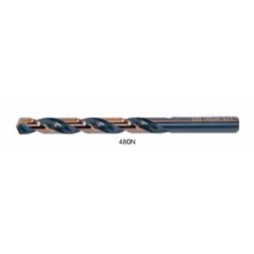 "Drillco I #17    3-3/8"" 135° Split Point / Straight Shank Jobber Drill"