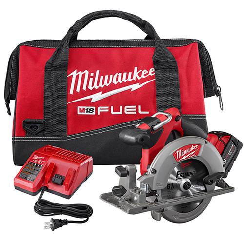 Milwaukee I M18™ FUEL™ 6 1/2 CIRC SAW 1 BAT KIT