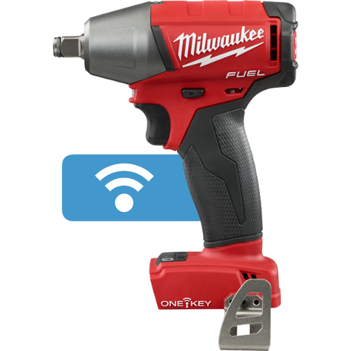 """Milwaukee I M18 FUEL™  1/2"""" COMPACT IMPACT WRENCH W/ FRICTION RING WITH ONE-KEY™ BARE"""