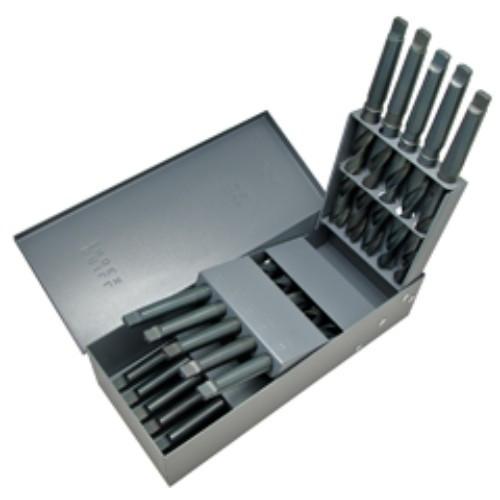 Alfa Tools I 16PC . 33/64-3/4X64 TAPER SHANK SET