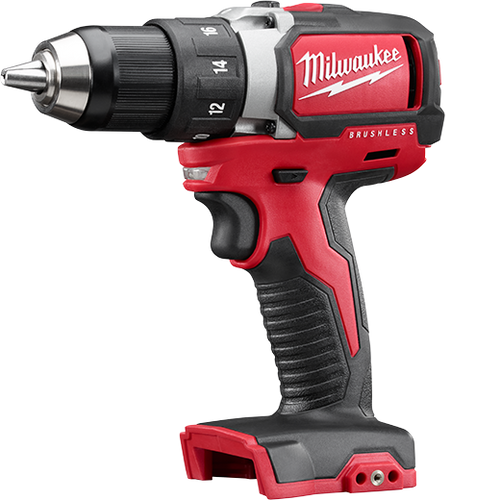 "Milwaukee I M18™ ½"" COMPACT BRUSHLESS DRILL/DRIVER BARE"