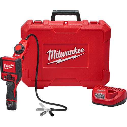 "Milwaukee I M12â""¢ M-SPECTOR FLEXâ""¢ 3'FT INSPECTION CAMERA CABLE W/ PIVOTVIEWâ""¢  KIT"