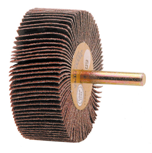 "Alfa Tools I 1 1/2"" X 1/2"" X 80 GRIT FLAP WHEEL"