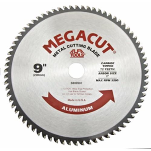 """Alfa Tools I 9""""X72X1"""" CARBIDE CIRCULAR SAW-ALUMINUM"""