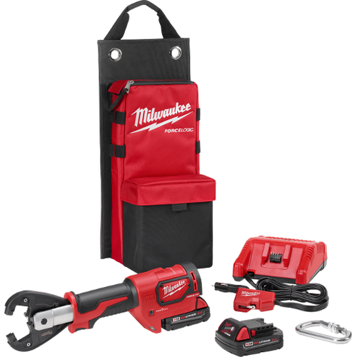 Milwaukee I M18™  FORCE LOGIC™ 6T UTILITY CRIMPING KIT WITH KEARNEY GROOVES