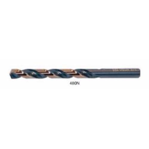 "Drillco I #22    3-1/8"" 135° Split Point / Straight Shank Jobber Drill"