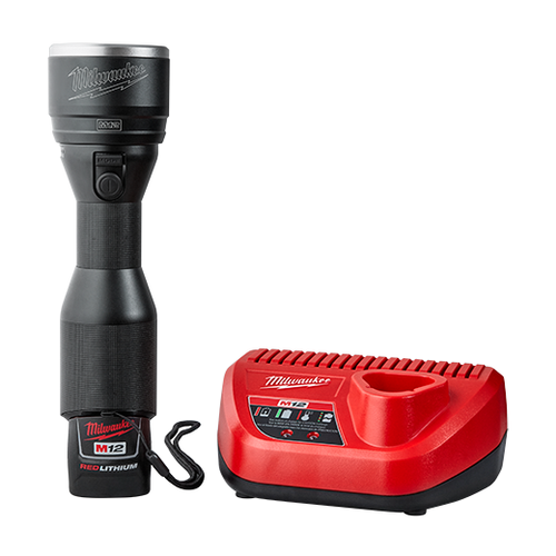 Milwaukee I M12™ LED Metal Flashlight Kit