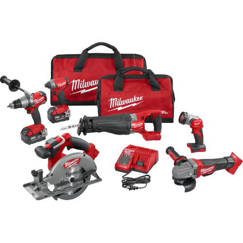 Milwaukee I M18 FUEL™ 6-TOOL COMBO KIT