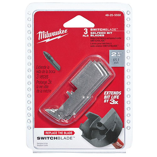 """Milwaukee I REPLACEMENT SWITCHBLADES 2-1/4"""""""