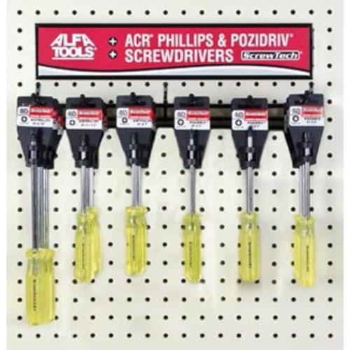 Alfa Tools I #3 X 8 POZIDRIV SCREWDRIVER HANGER