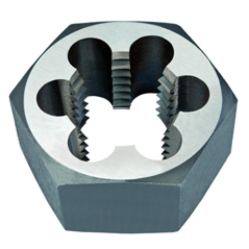 "Alfa Tools I 1/4-18 CARBON STEEL HEX DIE NPT 1"" A.F. CARDED"