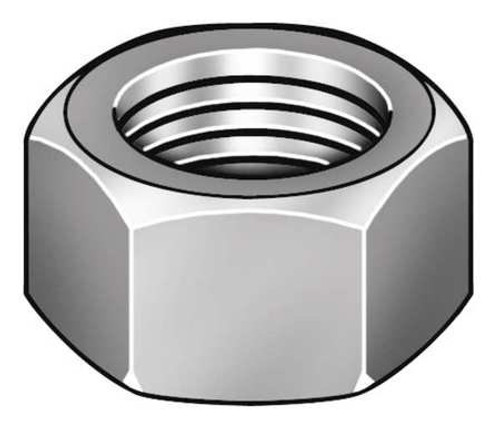 Stainless Nut I 1/2-13 Stainless Steel HEX NUTS 18-8