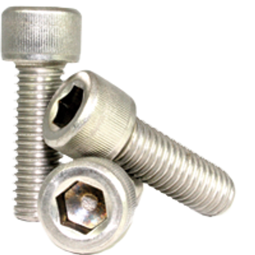 "Stainless Socket Head Cap Screw | 3/8""-16x1/2"" Full Thread (18-8), Qty 100"