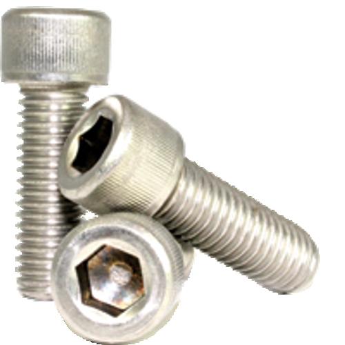 "Stainless Socket Head Cap Screw | 3/8""-16x1/2"" Full Thread (18-8), Qty 100"