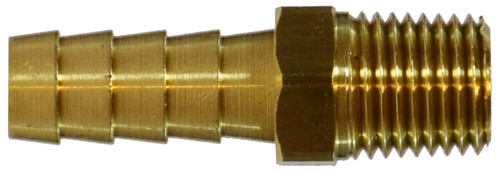 Rigid Male Adapter I 3/8 X 1/4 HOSE BARB X MALE ADPT