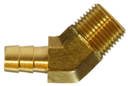45 Deg Elbow I 3/8 X 3/8 HB X MIP 45 ELBOW - 32113
